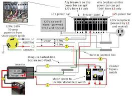rv dc volt circuit breaker wiring diagram power system on an