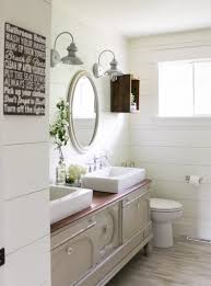 Farm Style Bathroom Vanities by 10 Gorgeous Farmhouse Bathroom Renovations Home Stories A To Z