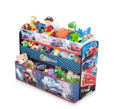 disney pixar cars deluxe 9 bin toy organizer toys