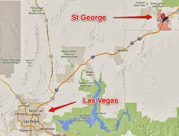 Google Maps Las Vegas by Richard U0027s Running Blog In Colorado St George Never In My Wildest