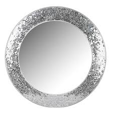 Round Bathroom Mirrors by Silver Mosaic Mirror Mosaic Mirrors Window And Round Bathroom