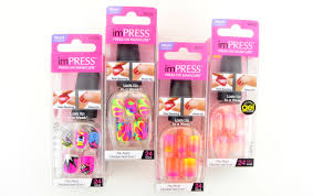 neon impress manicure review