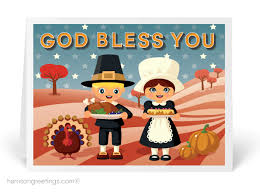 god bless america thanksgiving card tg98 harrison greetings