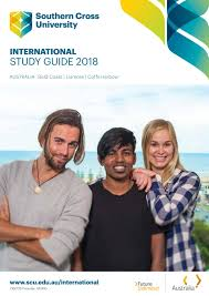 southern cross university international study guide 2018 by