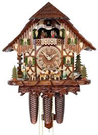 Regula Cuckoo Clock Adolf Herr Cuckoo Clock The Tipsy Brothers 8 Day With Music
