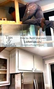 Build Yourself Kitchen Cabinets  Colorviewfinderco - Kitchen cabinets diy kits
