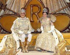 mardi gras royalty the rex and comus courts meet on mardi gras to celebrate and