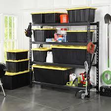 husky shelving units storage ideas