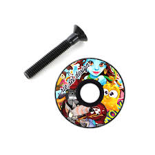 riesel design riesel design top cap stem cap 2016 stickerbomb maciag offroad