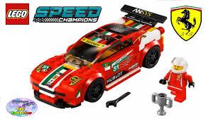 ferrari speed chions speed champions ferrari 458 italia gt2 75908 surprise egg and