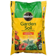 Vegetable Garden Soil Mix by Miracle Gro 1 Cu Ft Garden Soil For Flowers And Vegetables