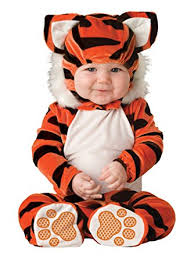 Halloween Costumes Girls Amazon Amazon Incharacter Baby Tiger Tot Costume Toys U0026 Games