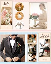 8 x 10 photo album 8x10 wedding album layout justmarried patrickandjade