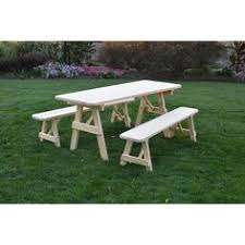 pressure treated pine unfinished traditional bench 2 3 4 5 6