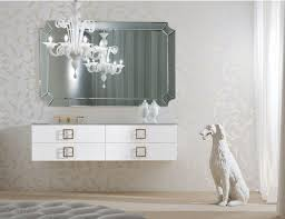 High End Bathroom Vanities by Daphne D14 High End Italian Bathroom Vanity In White Lacquer