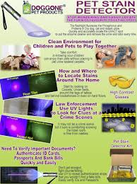 how to use black light paint uv flashlight pet urine detector by doggone pet products