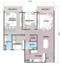 Residence Floor Plans Sunsuria