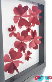 Making Flowers Out Of Tissue Paper For Kids - best 25 paper hearts ideas on pinterest valentine day crafts