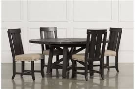 Dining Room Sets With Fabric Chairs by Rustic Wood Dining Room Furniture Living Spaces