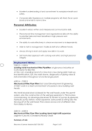 How To Name A Resume James Hawkins Resume 1e