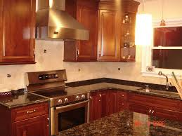 Custom Kitchen Backsplash Kitchen Backsplash With Uneek Glass Fusions Accent Tiles Flickr