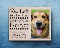 dog memorial pet memorial frame pet loss gifts dog sympathy pet memorial