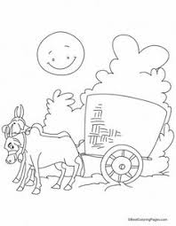 coloring pages download free the cart harnessed by two bulls coloring pages download free the