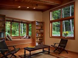 Wooden Interior Window Sill Window Sill Transformation Into Uniquely Designed Cozy Additional Bed