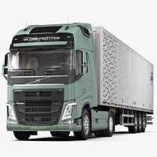 volvo semi truck models 2013 3d fbx