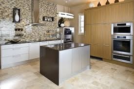 Kitchen Wall Paint Ideas Kitchen Terrific Mosaic Tile Backsplash With Stainless Steel Wall