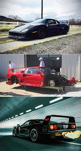 f40 parts they took a wrecked f40 and started replacing parts in a