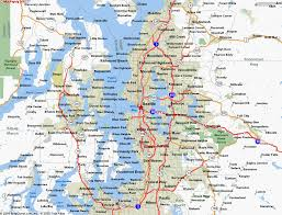 seattle map map of seattle wa