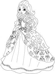 inspirational design ideas ever after high coloring pages ever