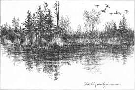 gallery simple sketch about nature drawing art gallery