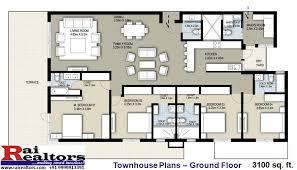 townhouse plans raheja srishti sales partner rai realtors