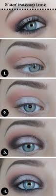 blue eyes how to do silver eye makeup metallic eyes by makeup tutorials at