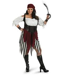 pirate plus size halloween costumes deck hand darling pirate costume women pirate costumes