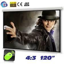 motorized home theater screen online get cheap 120 motorized screen aliexpress com alibaba group