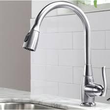 kitchen faucet single kraus premium faucets single handle pull standard kitchen