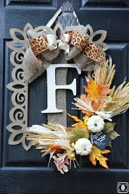 diy wreaths 40 fall wreaths to make for your front door