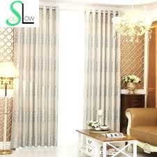 Yellow Brown Curtains Blue Brown Curtains Shade Curtains For Living Room Luxury Curtain