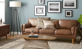 How To Get Scuff Marks Off Walls by 6 Steps For Cleaning A Leather Sofa Overstock Com