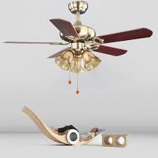 42 Inch Ceiling Fan With Light 42inch European Style Retro Ceiling Fan L Bedroom Living Room