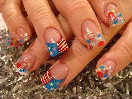 wonderful fourth of july acrylic nail art design ideas katty