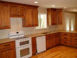 kitchen cabinet stain colors with brown kitchen designs