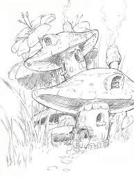 265 mushrooms images mushrooms drawings fall