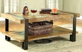 rustic metal coffee table wood metal coffee tables 4sqatl com