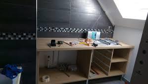 Meuble Pour Sous Pente Creation Ou Renovation Salle De Bain Normale Et En Sous Pente