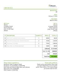 Invoice Templates For Excel 19 Blank Invoice Templates In Ms Excel