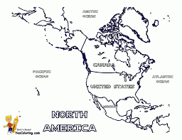 central america map with states and capitals
